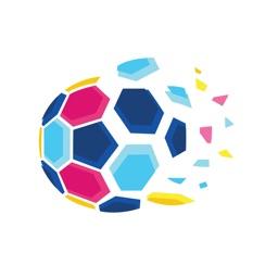 花样足球卡通贴图