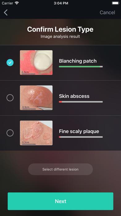 VisualDx Screenshot