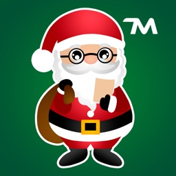 Hi Santa Claus Stickers