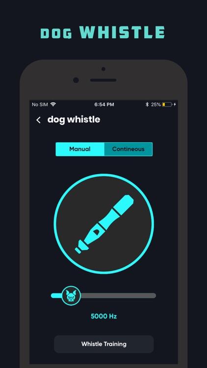 Dog Whistle & Clicker screenshot-3