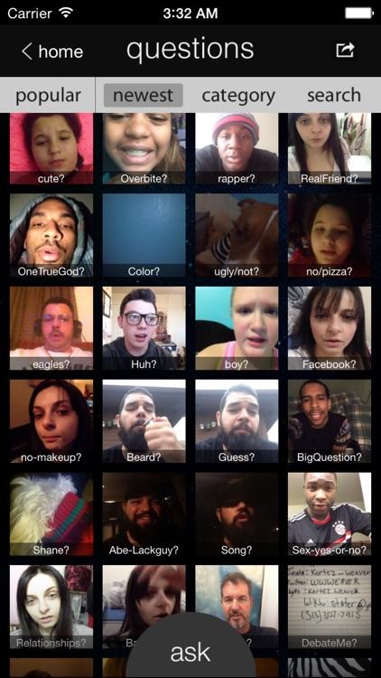 Questions - Video Chat Q&A screenshot-3