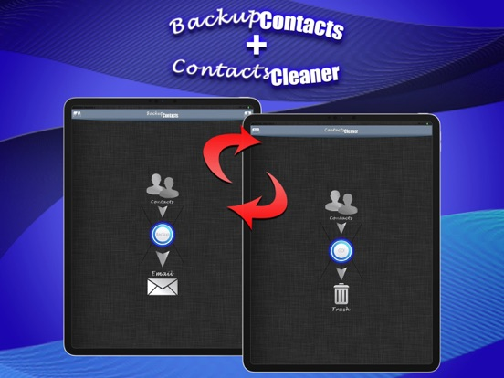 Backup Contacts Pro. Screenshots