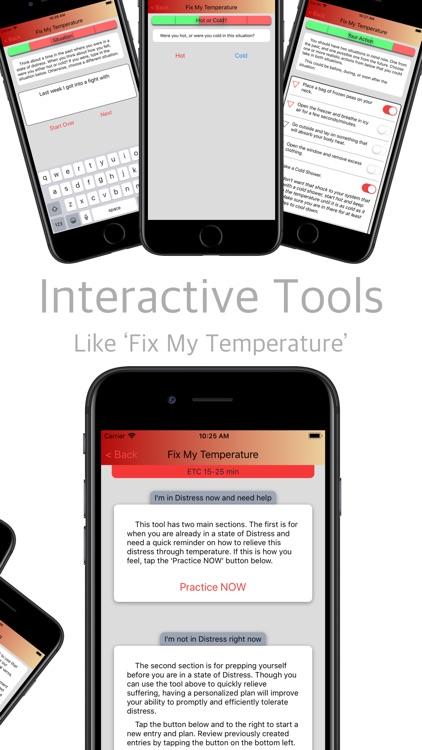 DBT Distress Tolerance Tools screenshot-3