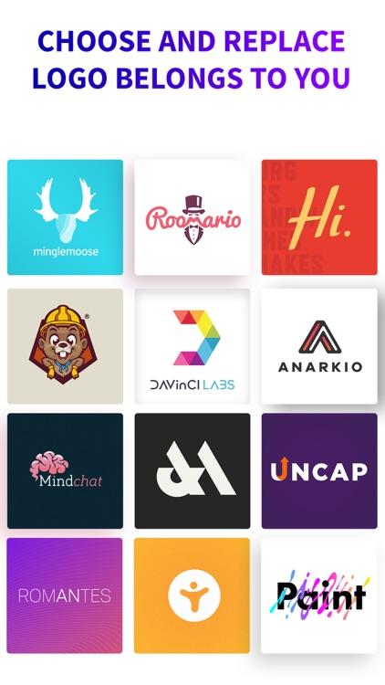 Logo Maker + Logo Creator screenshot-3