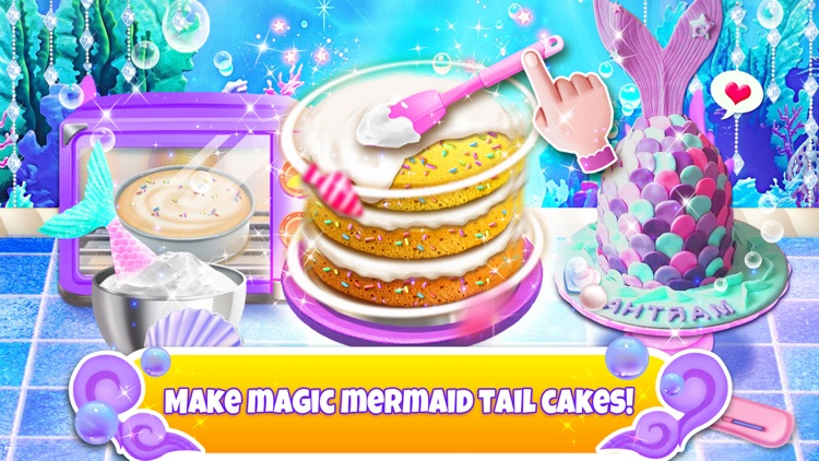 Unicorn Chef: Mermaid Cooking
