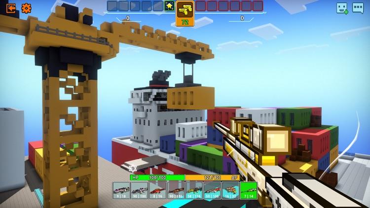 Cops N Robbers (FPS): 3D Pixel screenshot-7