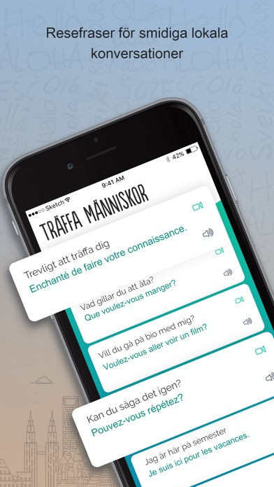 Screenshot for Franska Trocal in Sweden App Store