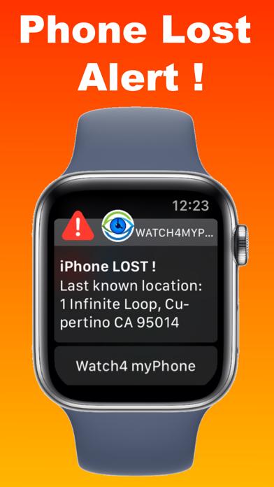 Watch 4 my Phone - Lost Alert Screenshots