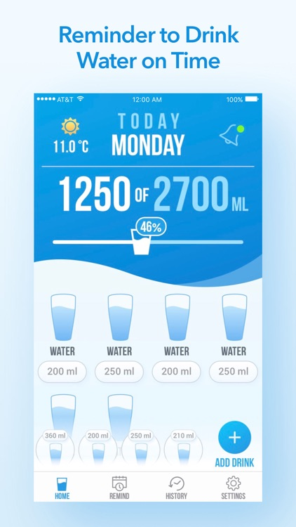 Water Reminder - Daily Tracker