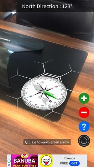 تطبيق تطبيق (Qibla AR (Augmented Reality يمكنك بواسطته معرفة اتجاه القبله 300x0w.jpg