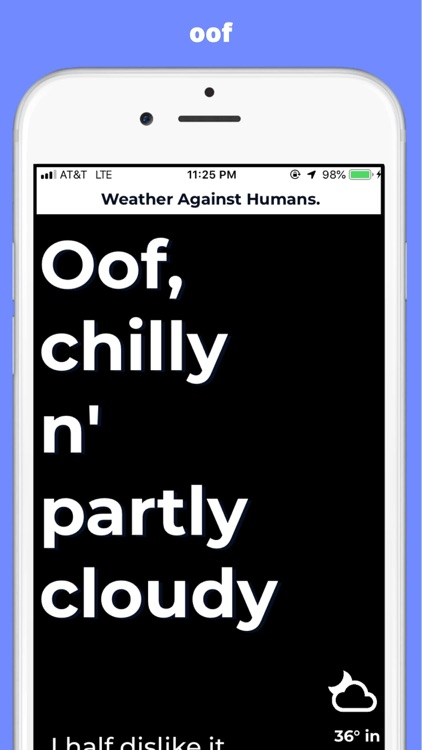 Weather Against Humans.