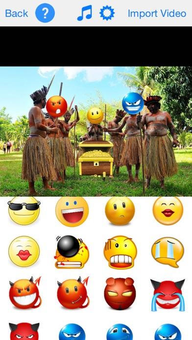 Screenshot #4 for Express Video - Add Emoji