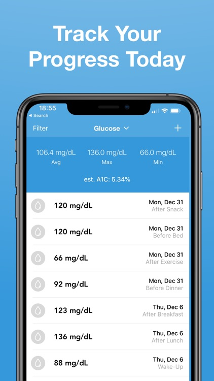 Glucose - Blood Sugar Tracker screenshot-4