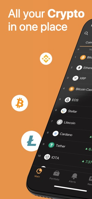 app to track cryptocurrency prices