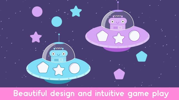 Robot Games Shapes and Colors screenshot-3