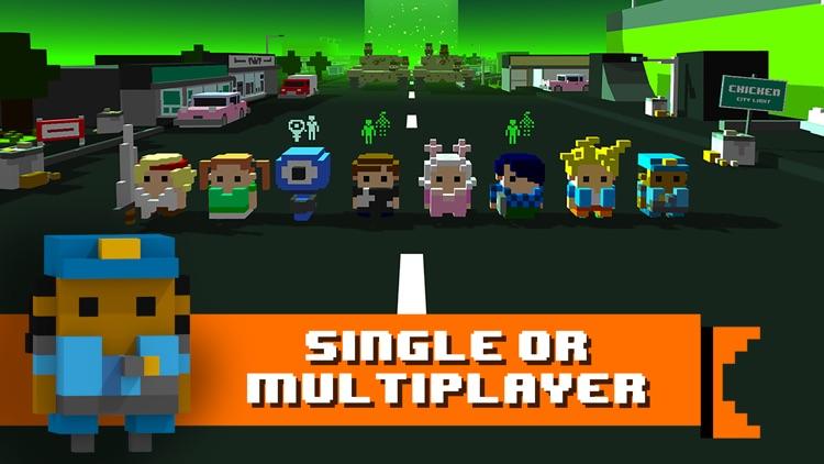 Chicken Jump - Crazy Traffic screenshot-3