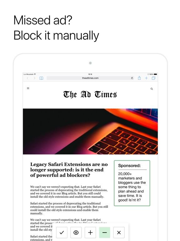 AdGuard Pro — adblock Screenshots