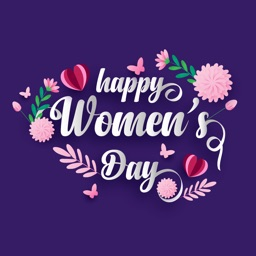 Happy Women's Day Sticker Apps
