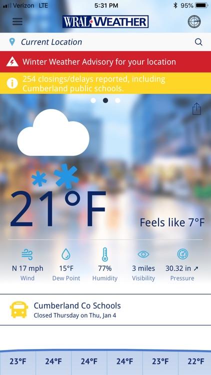 WRAL Weather screenshot-4