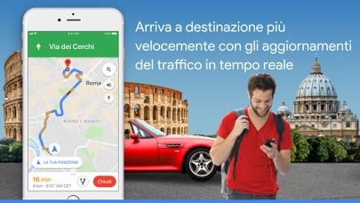 Screenshot for Google Maps - GPS e Ristoranti in Italy App Store