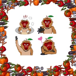 Macaque Stickers
