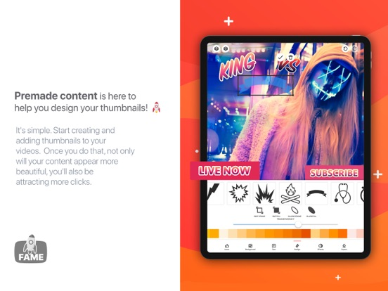 Fame - YT Thumbnail Maker | App Price Drops