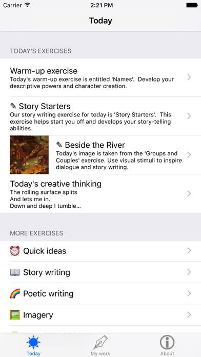 Creative Writing review screenshots