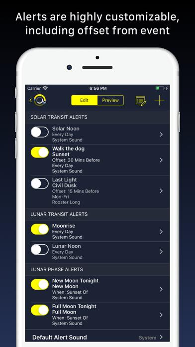 Sundial - Solar & Lunar Times Screenshot