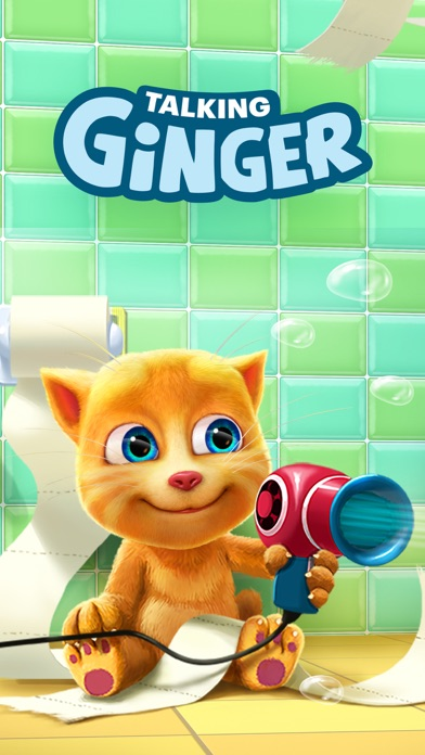 Screenshot for Talking Ginger in United Arab Emirates App Store