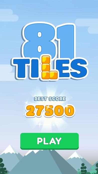 81 Tiles - Color Block Puzzle Screenshot