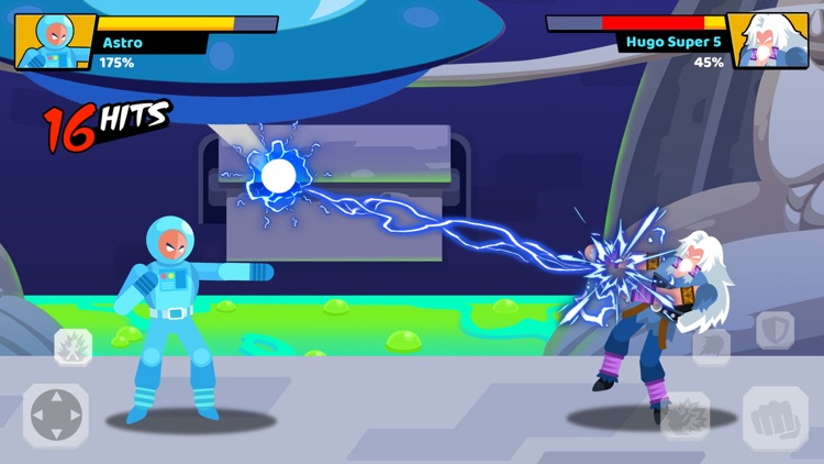 Stick Heroes: Fighting Battle screenshot-3