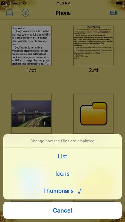 Cool Writer screenshot-4