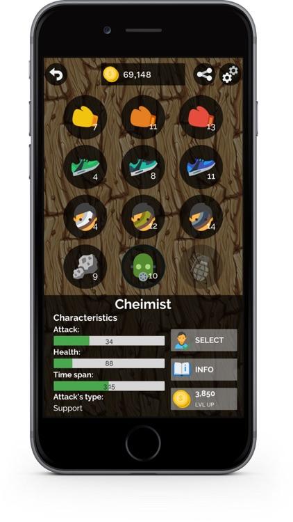 KOTH - strategy games offline screenshot-5