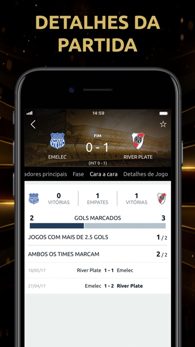 Screenshot for CONMEBOL Libertadores in Brazil App Store