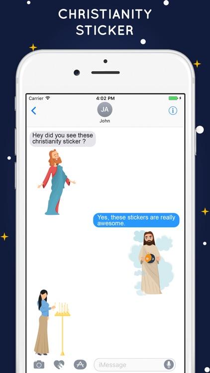 Christianity Stickers - Jesus screenshot-3