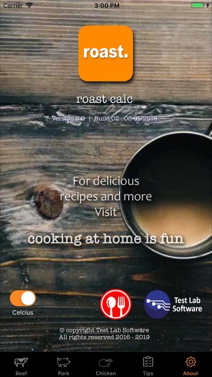 Roast Calc screenshot-9