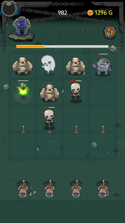 Zombie Evolution 2048 screenshot-2