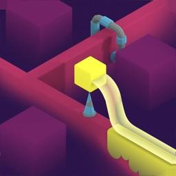 喷色之路-开心跳一跳动作模拟地铁跑酷游戏