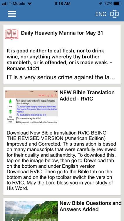 Bible Study Tools, Audio Video