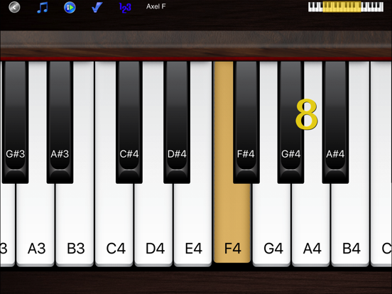 Piano Melody Free - Learn Songs and Play by Ear screenshot