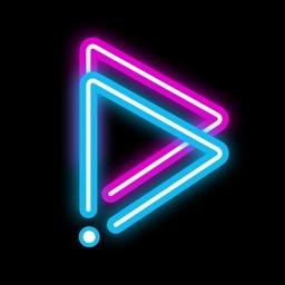 GoCut FX - Glowing Video Maker