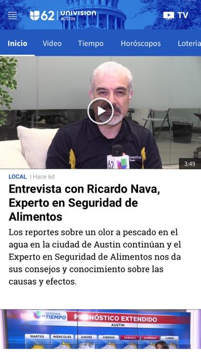 Univision 62 Austin screenshot 3