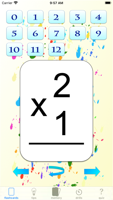 multiplication drills: X screenshot 3
