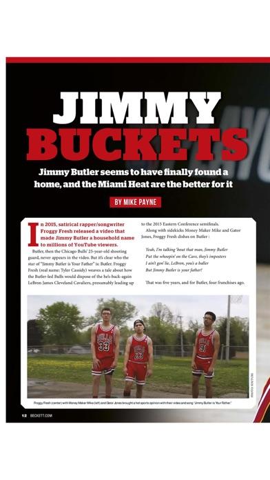 Beckett Sports Card Monthly Screenshot