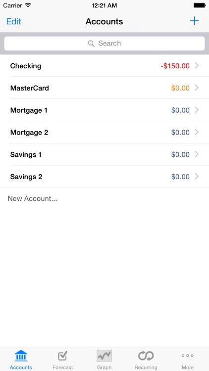 Cashflows screenshot-4