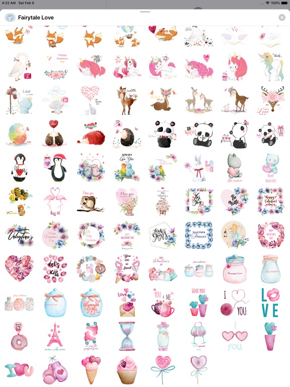 Fairytale Love Stickers screenshot 9