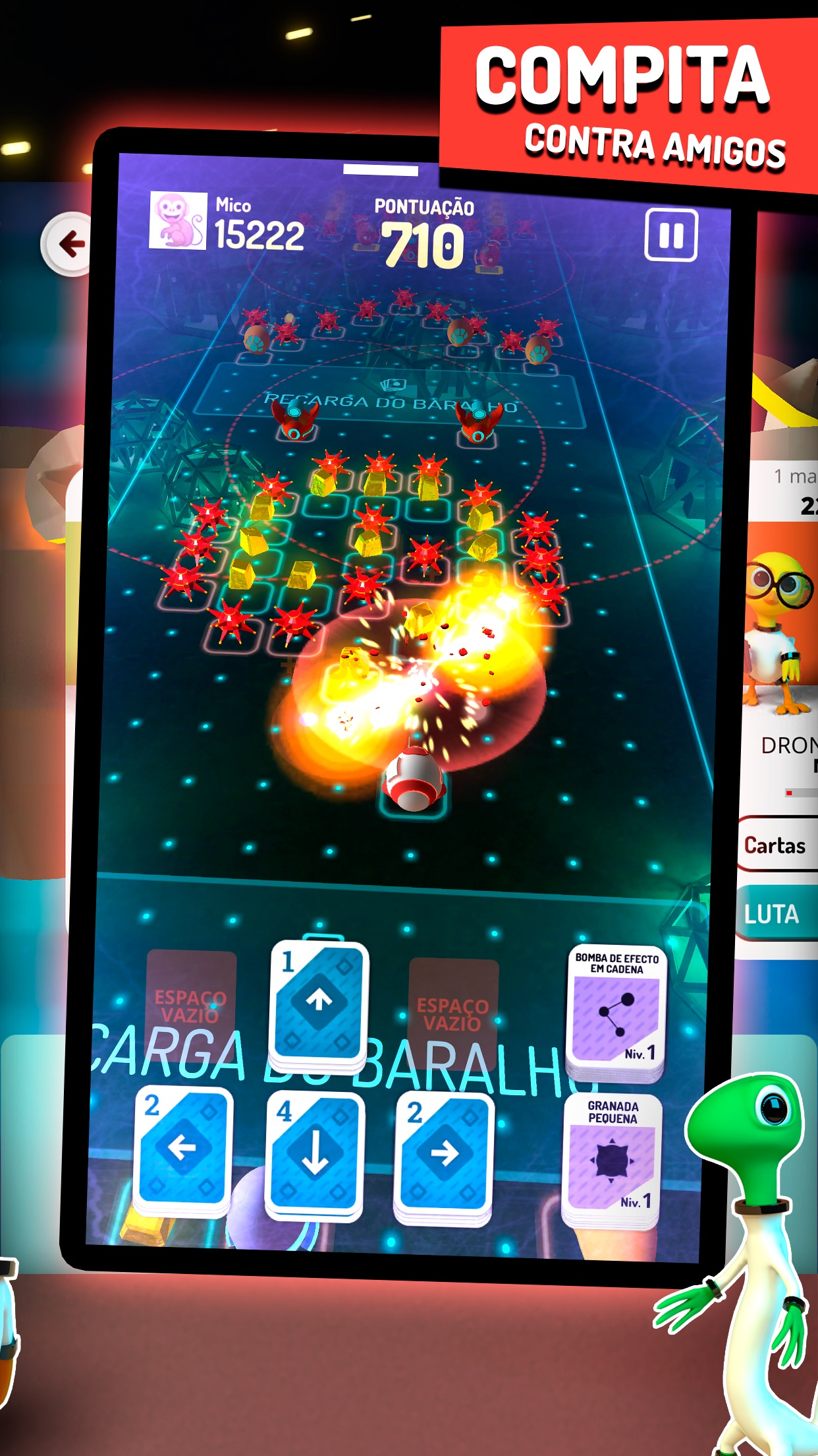 Screenshot do app Shell Shocked