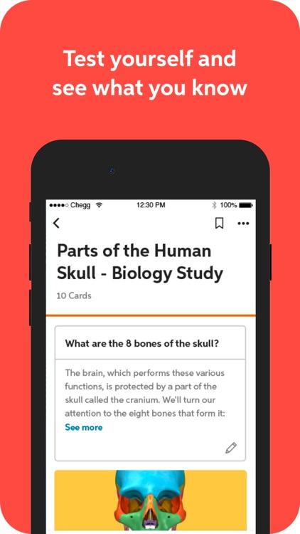 Chegg Prep - study flashcards screenshot-3