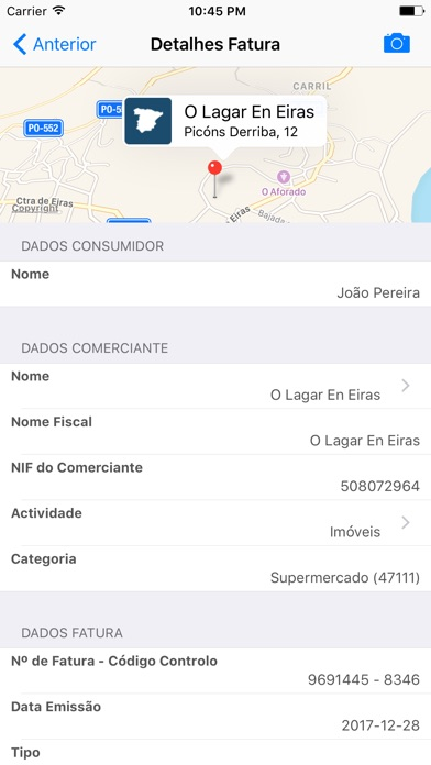 Screenshot for eFatura in Portugal App Store