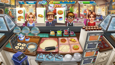Screenshot from Cooking Fever